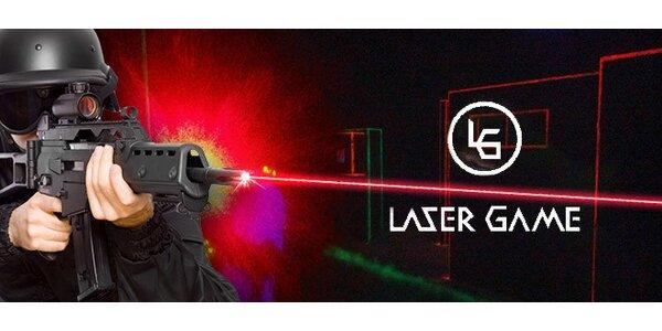 Laser Game až pro 10 hráčů. Přijďte se odreagovat!