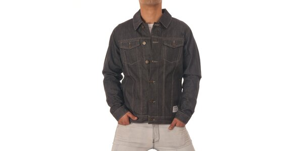 Pánská šedá džínová bunda Zoo York