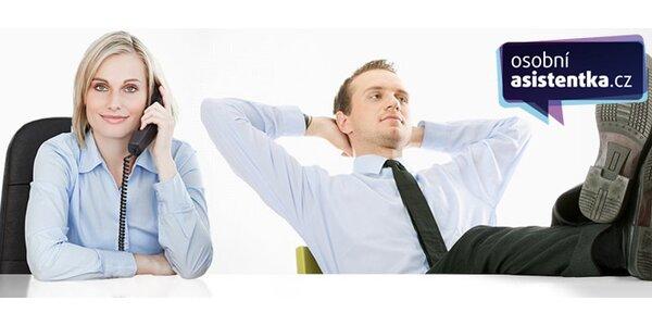 60 min aktivní podpory osobní asistentky