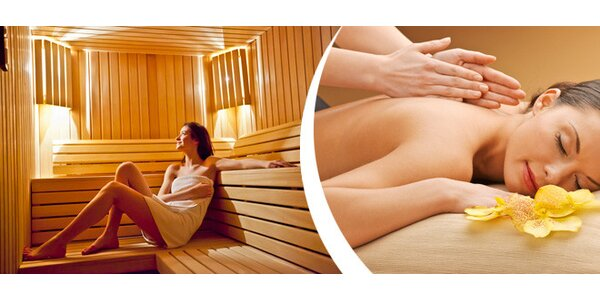 10 vstupů do finské sauny + sleva na masáž