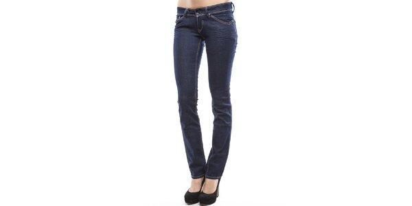 Dámské tmavě modré úzké džíny Tommy Hilfiger
