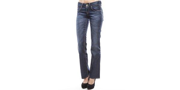 Dámské modré boot cut džíny s šisováním Tommy Hilfiger
