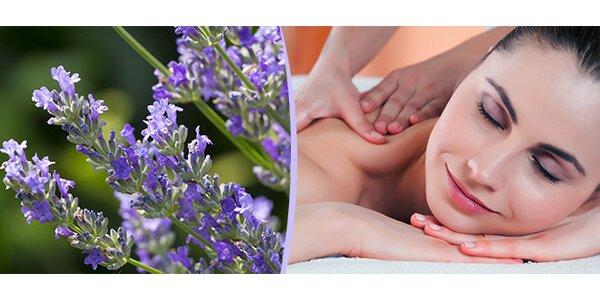 Uklidňující skořicová masáž