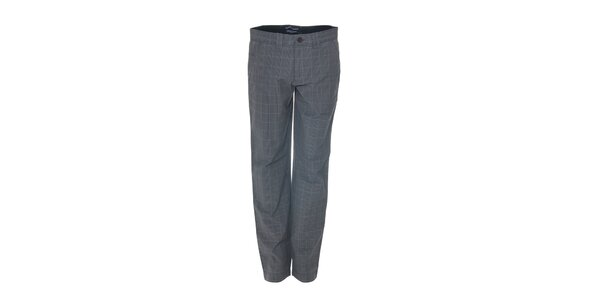 Šedé kalhoty se vzorem