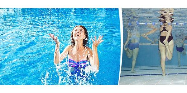 Aqua aerobic, Aqua fitness - permanentka na 5 lekcí