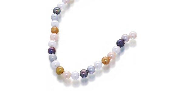 Dámský náhrdelník z barevných perel Orchira
