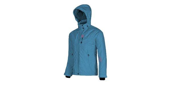 Dětská světle modrá lyžařská bunda Husky