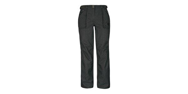 Dámské tmavě hnědé kalhoty Husky