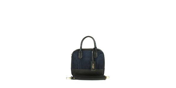 Dámská tmavě modrá kufříková kabelka Joysens