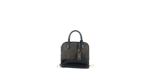 Dámská tmavě hnědá kufříková kabelka Joysens