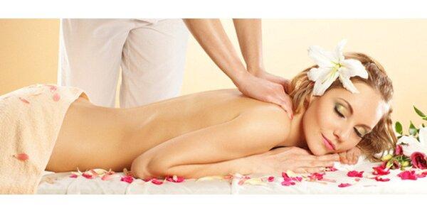 Výběr z 60minutových masáží v Azur Wellness