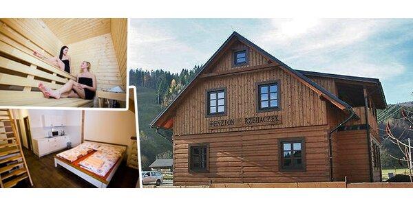 3 dny v luxusním apartmánu pro 4-5 osob v Dolní Lomné, Beskydy