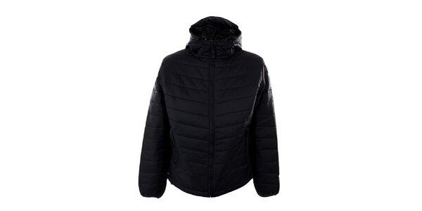 Dámská černá prošívaná bunda Hannah