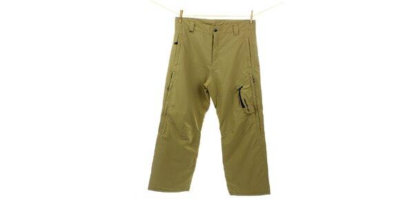 Pánské žluto-zelené sportovní kalhoty Hannah