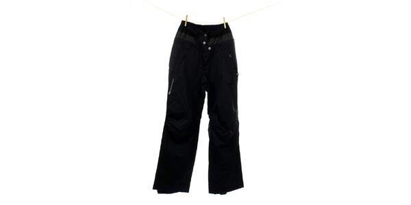 Dámské černé zateplené lyžařské kalhoty Hannah