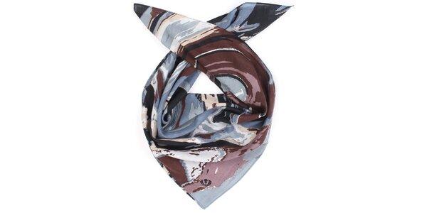 Dámský duhově barevný bavlněný šátek Fraas
