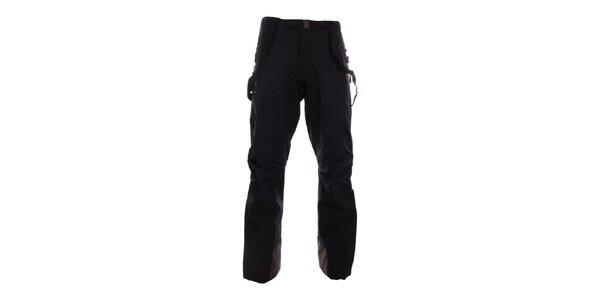Pánské černé horolezecké nepromokavé kalhoty Hannah
