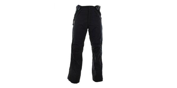 Pánské černé funkční zimní kalhoty Hannah
