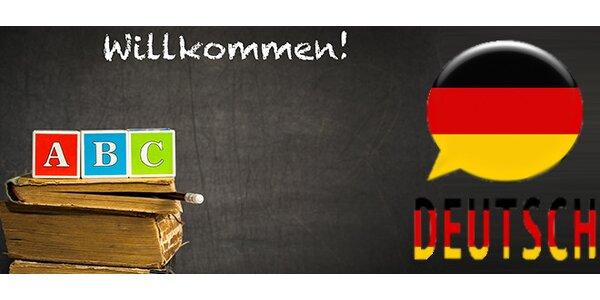 Němčina od nuly - 10 lekcí v délce 45 minut