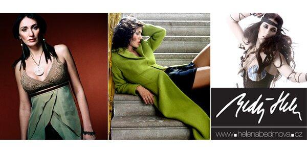 199 Kč za módní kousky návrhářky Heleny BEDRNOVÉ v hodnotě 400 Kč. Sleva 50%