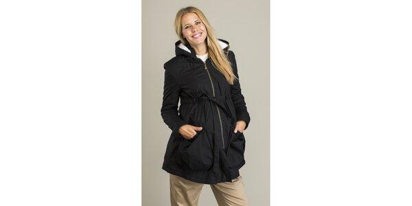 Dámský černý kabátek Mom2mom