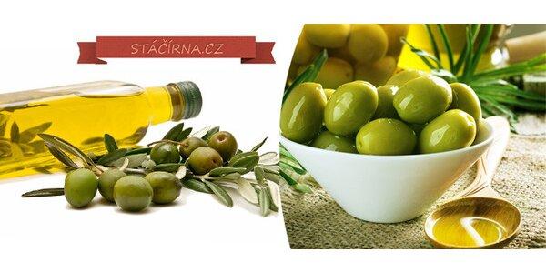 1 litr stáčeného olivového oleje na vaření podle vašeho Gusta
