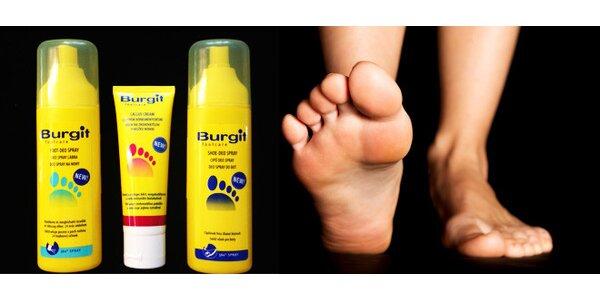 BURGIT – kvalitní péče pro Vaše nohy