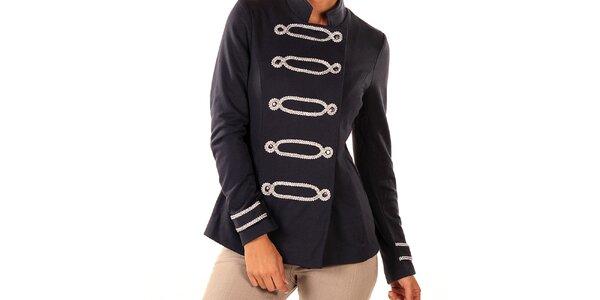 Dámské tmavě modré vojenské sako Ada Gatti