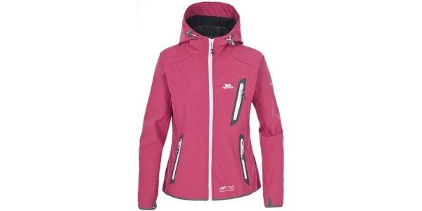 Dámská růžová softshellová bunda Trespass