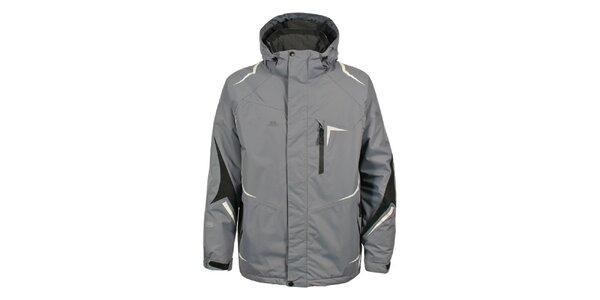 Pánská šedá bunda na lyže Trespass