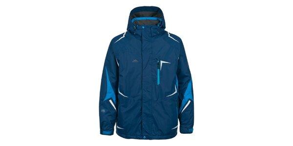 Pánská tmavě modrá bunda na lyže Trespass