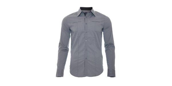 Elegantní šedá košile
