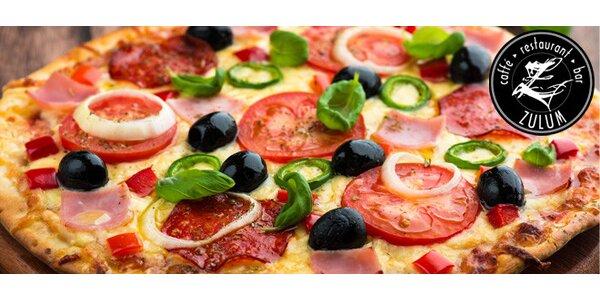 1 nebo 2 pizzy s sebou - výběr z 18 druhů