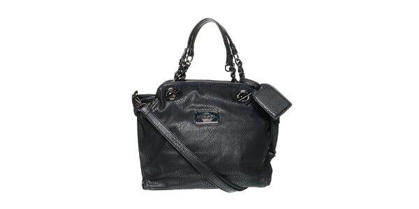 Dámská černá kabelka s visačkou Diesel 78247f2b359