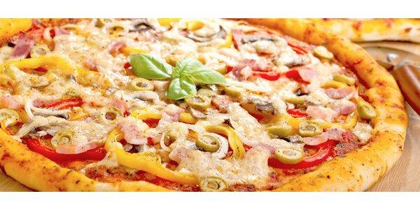 50% sleva na obří pizzu v Pizzerii Giovanni