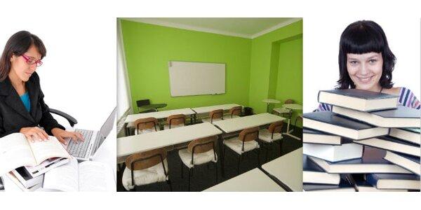 1250 Kč za přípravný kurz na TSP nebo státní maturity v hodnotě 2499 Kč.