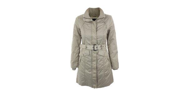 Dámský šedo-béžový kabát Company&Co