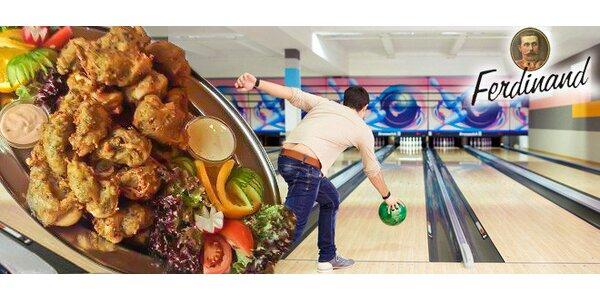 Bowling a 2 porce kuřecích rarášků