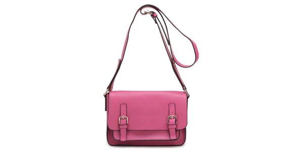 Růžová poštovní kabelka