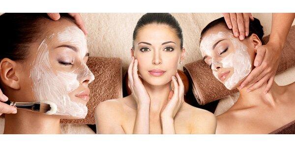 Kosmetické ošetření pleti s aromaterapií