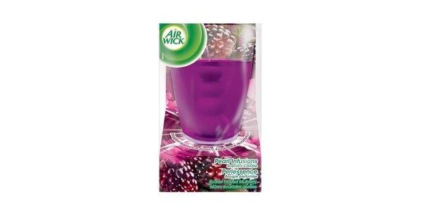 AIRWICK Pearl Infusion svíčka Purpurové lesní plody 120 g