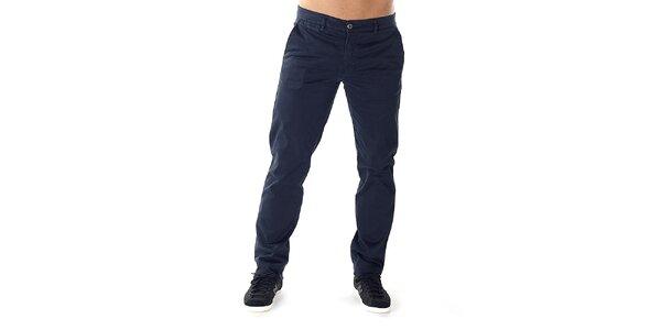 Pánské tmavě modré chino kalhoty Bendorff