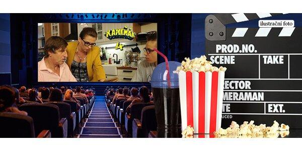 Vstupenky do kina Ládví s občerstvením