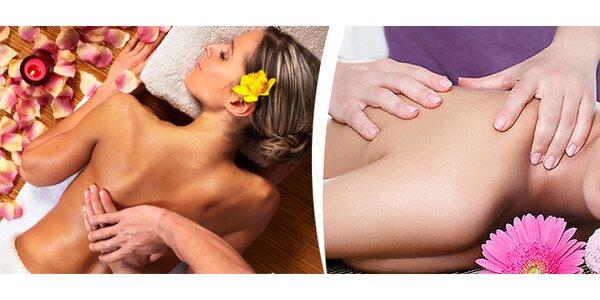 Hloubková reflexní masáž zad s poradenstvím