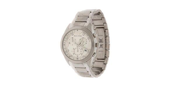 Pánské náramkové hodinky Marc O´Polo s chronografem a tachymetrem