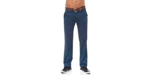 Pánské modré chino kalhoty Bendorff