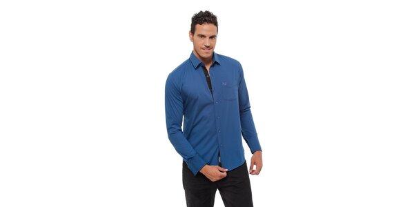 Pánská modrá košile Bendorff