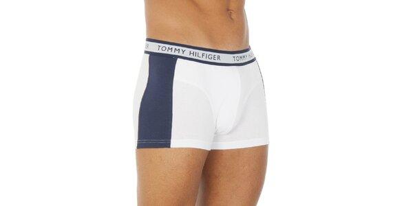 Pánské modro-bílé boxerky Tommy Hilfiger