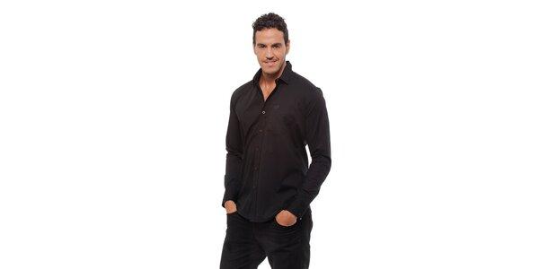 Pánská černá košile Bendorff