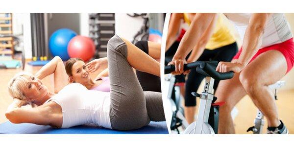 Cvičte ve fitness pod vedením instruktorky